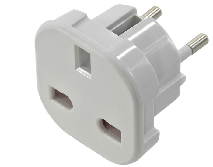 POWER ADAPTER UK TO EU NEW
