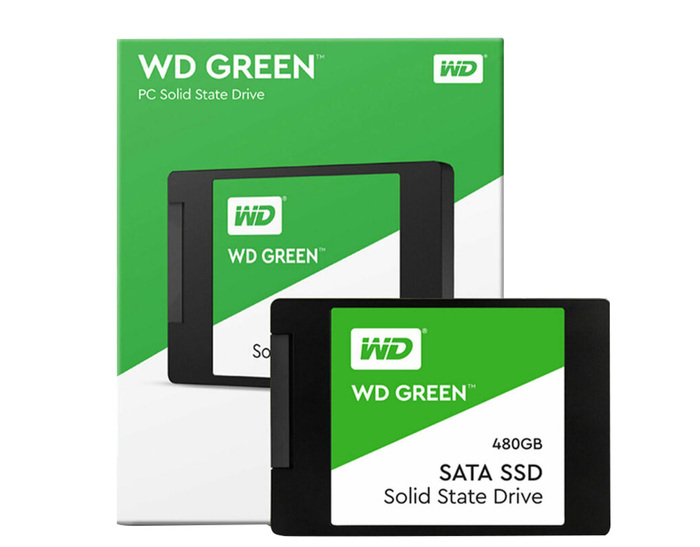 "SSD 480GB 2.5"" WD GREEN SATA3 6GB/S NEW"
