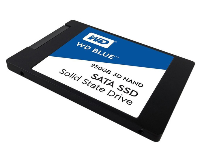 "SSD 250GB 2.5"" WD BLUE SATA3 6GB/S NEW"
