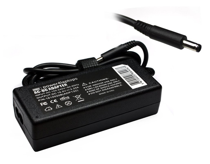 AC ADAPTER REPLACEMENT HP 19.5V/3.33A/65W (4.5*3.0)