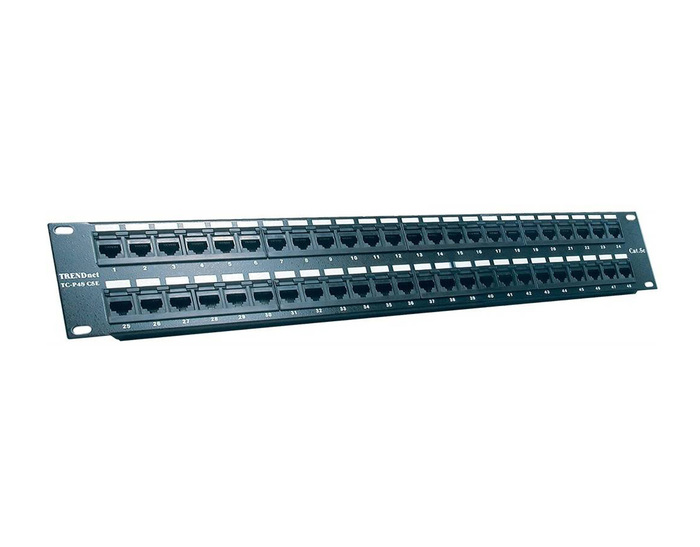 PATCH PANEL MOLEX 48 PORT UTP CAT5e - PID-00059 NEW - Φωτογραφία