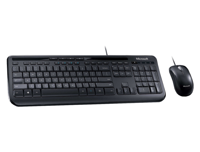 KEYBOARD-MOUSE MICROSOFT WIRED DESKTOP 600 NEW