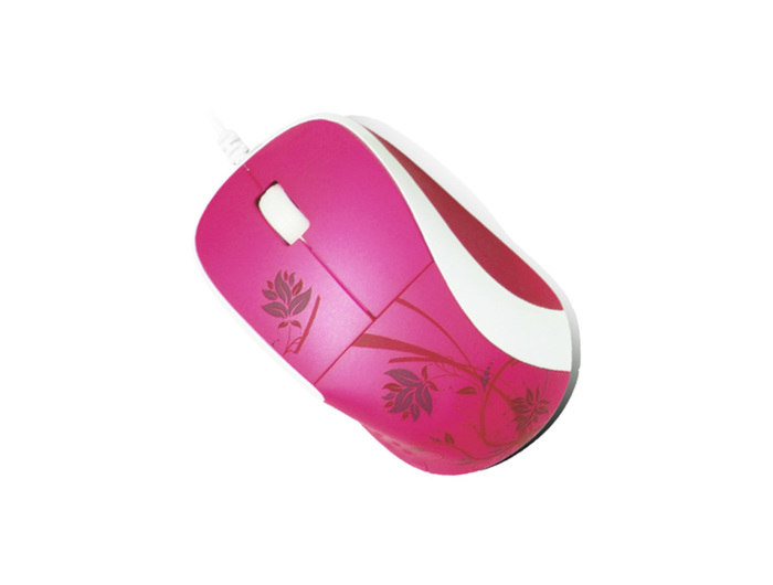 MOUSE E-BOSS FASHIO COLORED FO1600 PURPLE