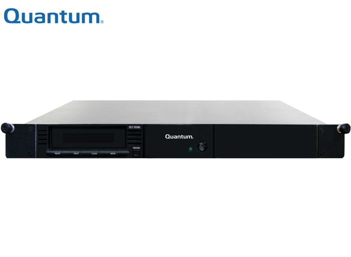 TAPE DRIVE Enclosure 1U QUANTUM WITH 1x DLT VS160 160GB SCSI