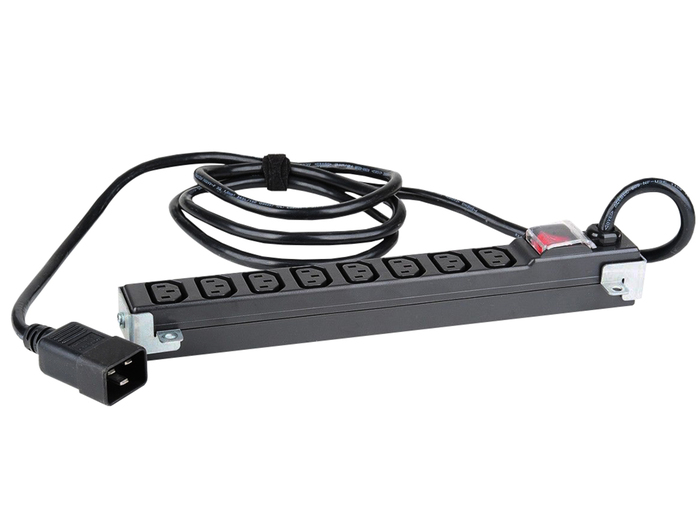PDU 8-OUTLETS EXTENSION BAR HP 8-PORT 12A - Φωτογραφία