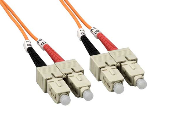 FIBER OPTICAL PATCH CORD 2M SC-SC DUPLEX