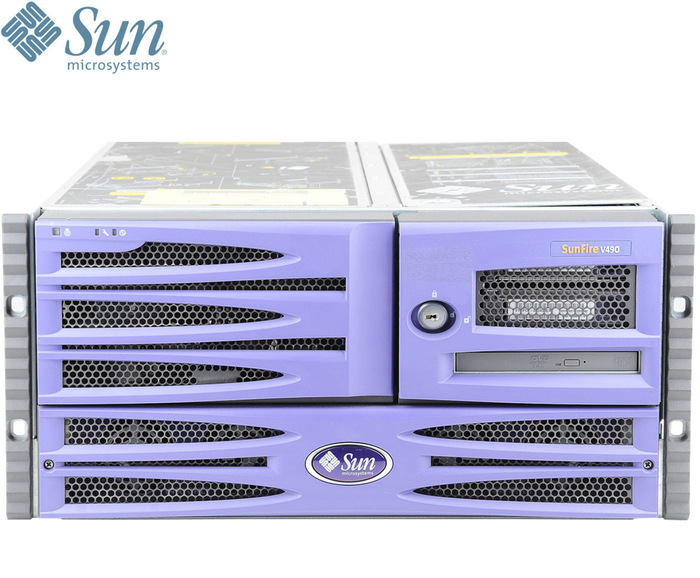 SERVER Sun Microsystems Fire V490 Sebring Rack LFF