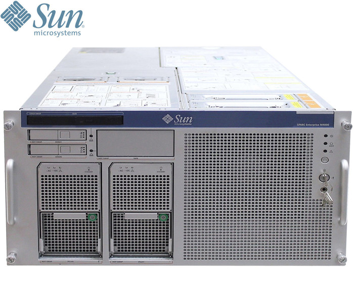 SERVER Sun Microsystems Sparc Enterprise M4000 Rack SFF