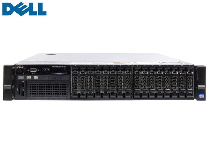 SERVER Dell PowerEdge R720 G12 Rack SFF