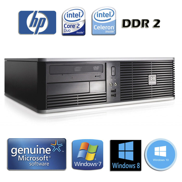HP DC5700 SFF Business PC C2D & C2Q - Φωτογραφία