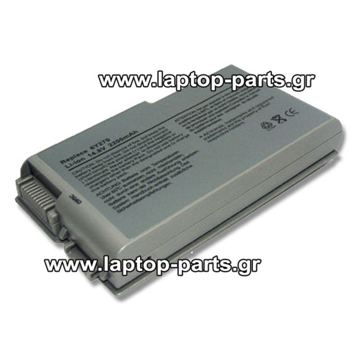 DELL LATITUDE D505 D510 D520 D600 D610 BATTERY GA - 6Y270