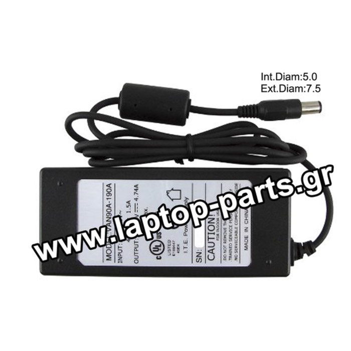 AC ADAPTER DELL 19.5V/3.34A/65W (7.5*5.0) - LA65NS2-01