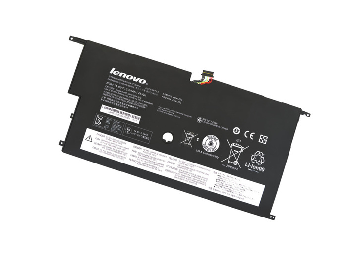 LENOVO CARBON X1 2ND GEN  BATTERY GA - 45N1702