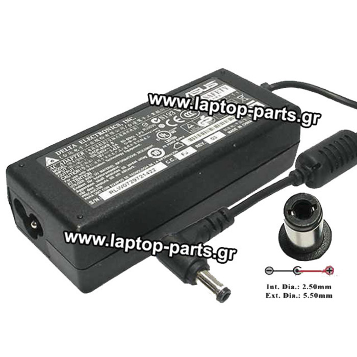 AC ADAPTER ASUS 19.0V/3.42A/65W (4.8*1.7) - ADP-65JH BB