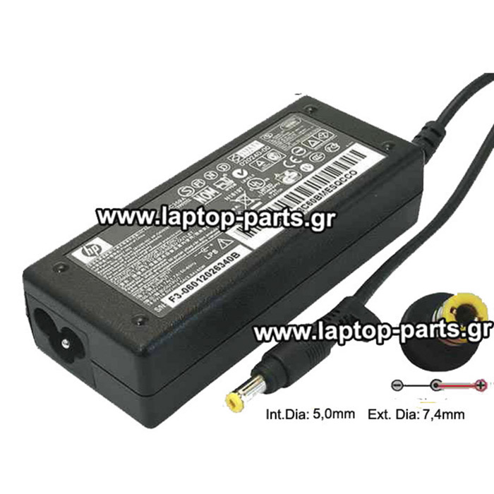 AC ADAPTER HPQ 18.5V/3.5A/65W (4.8*1.7) - 239704-001