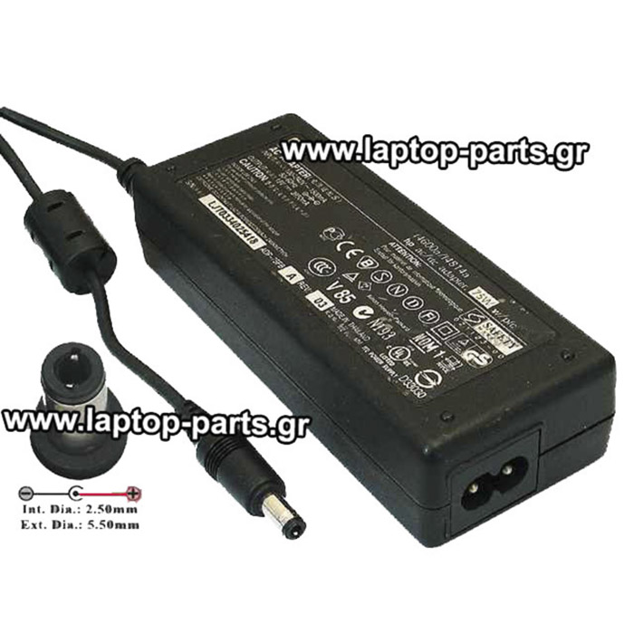 AC ADAPTER HP 19.0V/3.95A/75W (5.5*2.5) - PA 1750 01 HM